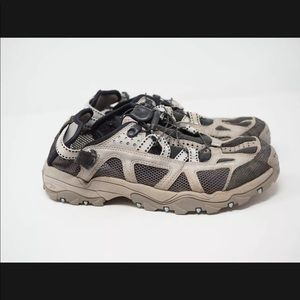 Salomon Techamphibian Gray Water Shoes Women's Contagrip   Size 9.5